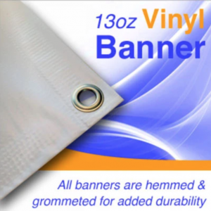 Outdoor Vinyl Banner 2.5x8ft